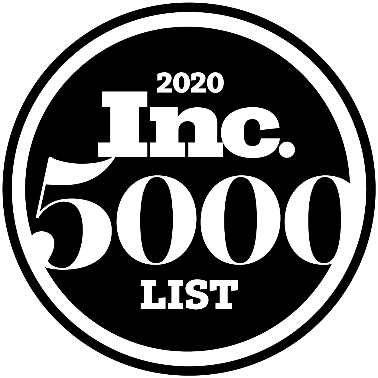 ECOSYSTEMS RANKS NO. 48 ON 2020 INC. 5000 LIST OF FASTEST-GROWING COMPANIES IN U.S.